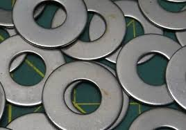 "QTY: 20 Zinc Ultra Thin <b>Flat Washers Metal Gasket</b> 1/4"" ID, 1-9/16 ..."