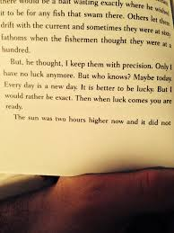 The Old Man In The Sea Every Day Is A New Day Hemingway Quotes