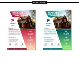 Microsoft Real Estate Flyer Templates Real Estate Flyer Template Property Free Psd
