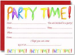 Party Invitations Kinderhooktap Com