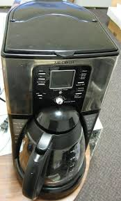 Is fast., digital, programmable, timer sound to tell you it is done. 12 Cup Coffee Machine Review