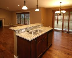 ... 2 Level Kitchen Island This Two Design Hides Sink From Sight  Integrating A And Woodbridge Tier