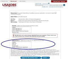 ... Usajobs Gov Resume Builder Usajobs In The Action Column To USA Jobs  Resume Builder