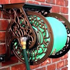 ames neverleak hose reel wall mount hose reel wall mount hose reel unique liberty garden s decorative cast aluminum aluminum wall mount swivel