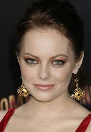 you can also try playing up on fair skin and red colored hair like emma by putting a touch of super bronze on the eyes you can then end the look with some