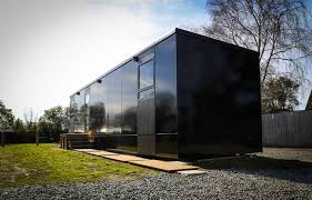 Small Picture Small modern 430 sq ft starter home is built with Passive