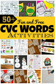For children in the early years. 50 Fun Cvc Words Activities