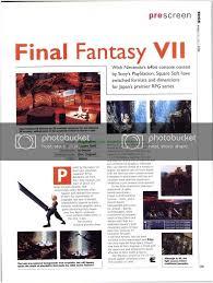 Final Fantasy VII 7 - PS1 Playstation ...