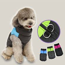 waterproof warm dog vest jacket coat for small medium dogs cool s