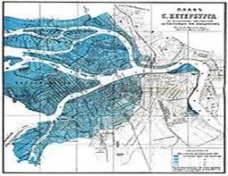 Реферат Наводнения в Санкт Петербурге Схема затопляемых территорий Санкт Петербурга