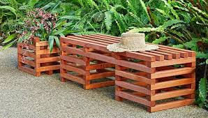 plans crib style outdoor bench plans wood planter