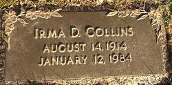 Irma Dillon Collins (1914-1984) - Find A Grave Memorial