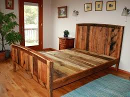 Rustic Bed Frame Image Of Rustic Bed Frames Canopy Ideas Rustic Bed ...