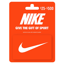 nike non denominational gift card