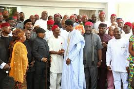Image result for Buhari vs South East
