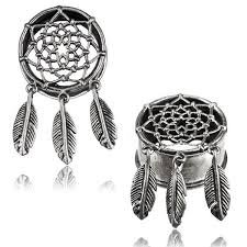 Dream Catcher Tunnels Dreamcatcher Ear Tunnels Boho Gauge Earrings Tribal Ear Plugs 26
