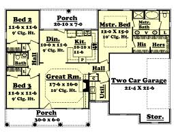 fresh idea 1500 sq ft house ground floor plan 7 southern style on home design