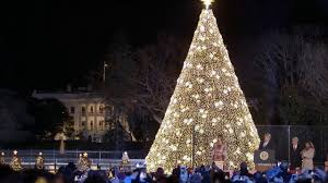 President Trump And The First Lady Light The 2019 National Christmas Tree