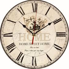 full image for trendy wall clocks kitchen 95 large kitchen wall clocks uk large vintage flower