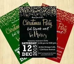 Invitation To A Christmas Party Bahiacruiser