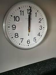 clocks lazy poet wall clock radio