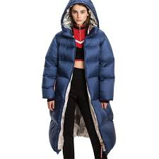 outerwear peacoat tommy hilfiger oversized down puffer womens peacoat