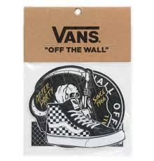 vans four pack logo print vinyl