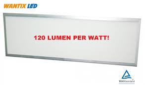 Led Paneel 120x60 60w 120lmw 7200lm Optie Flikker Vrij 3000k 4000k 6000k