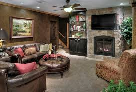 Tuscan Style Living Room Furniture Living Room Excellent Living Room Implemented With Dark Brown