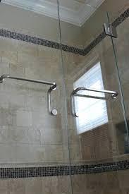 door towel bar shower imposing charming glass contemporary bathroom with bathtub home interior for s65
