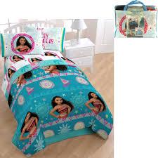 disney moana bed in a bag 5 piece bedding set with bonus tote com