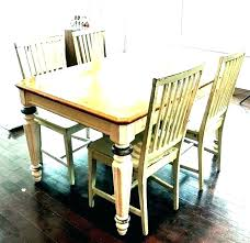 white farmhouse dining table and chairs black old farm set