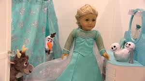 american girl doll elsa s frozen ice castle bathroom sven s wild bubble bath agsm you