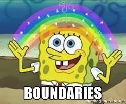 Image result for boundaries meme