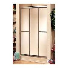maax sliding shower door triple plus shower door w raindrop glass by maax sliding shower door