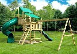 outdoor fort building kit frontier fort with swing set kit home decor ideas for living room