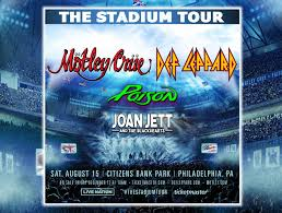 motley crue def lep poison joan stadium
