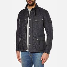Barbour International Men's Ariel Quilt Jacket - Black - Free UK ... & Barbour International Men's Ariel Quilt Jacket - Black: Image 2 Adamdwight.com
