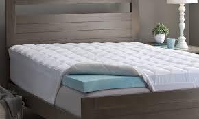 thick mattress topper. How To Pick Memory Foam Mattress Topper Thickness Thick Mattress Topper Overstock.com