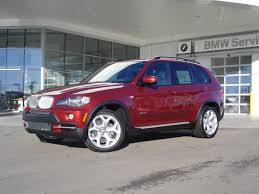 BMW Convertible 2009 bmw x6 xdrive50i for sale : BMW X5 in Vermillion Red color - an X6 color