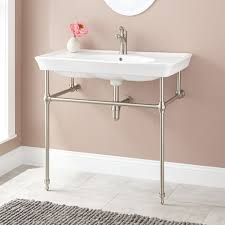 console bathroom sinks console sink metal console sink stands