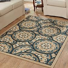 terrific navy rug 5x7 miraculous round pattern of rugs floor amazing area home depot