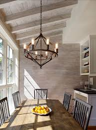 rustic light fixtures for dining room 16978 popular lighting intended 11