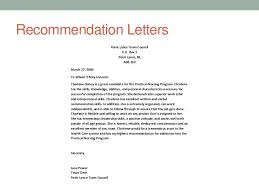 Student Council Recommendation Letter - April.onthemarch.co