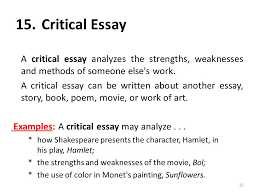 strengths and weaknesses examples paris review the art of the essay no 1 e b white do you have