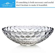 Decorative Clear Glass Bowls Antique Glass Fruit Bowls Bubble Crystal Glass Bowl Clear Glass 32