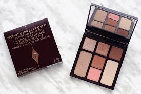 charlotte tilbury instant look palette review beauty glow