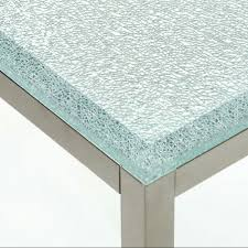 dining crackle glass dining table