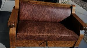 kroehler mfg co antique oak hide a