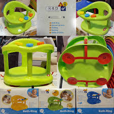 new baby bath tub ring seat keter with anti slip suction cups shower free ship